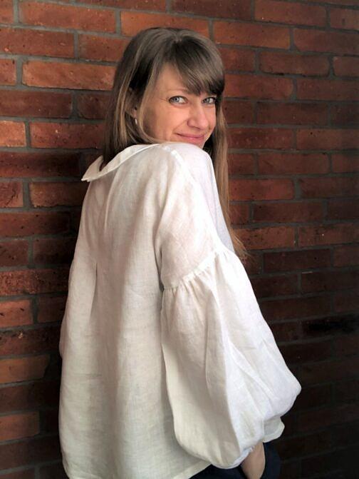 bluzka lniana